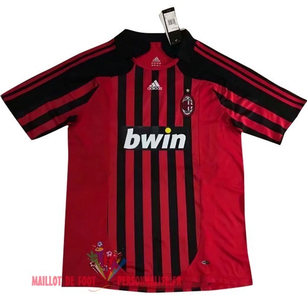 8a5a858fc5c36 Maillot Om Pas Cher Adidas DomiChili Maillot AC Milan Vintage 2007 2008  Rouge