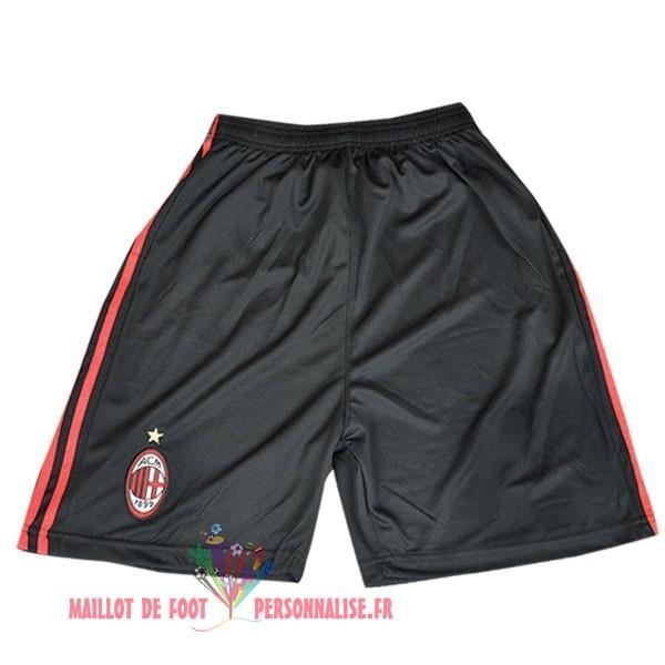 8af40460eaf00 Maillot Om Pas Cher Adidas Third Shorts AC Milan Vintage 2009 2010 Noir