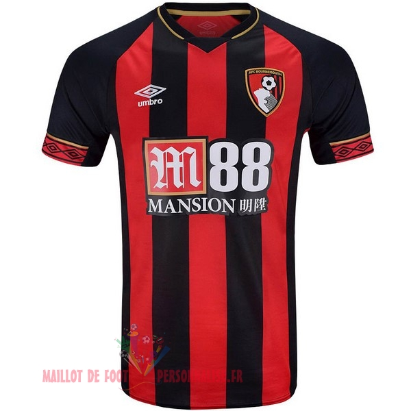 Maillot Om Pas Cher umbro Domicile Maillots Bournemouth 18-19 Rouge