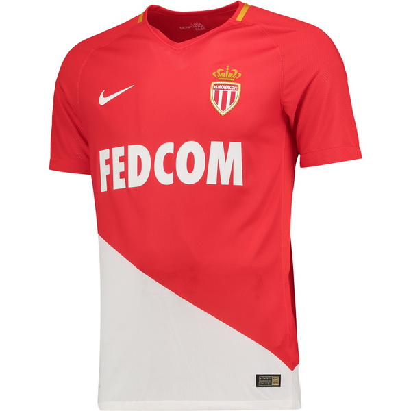 Maillot Om Pas Cher Nike Domicile Maillots AS Monaco 2017 2018 Rouge