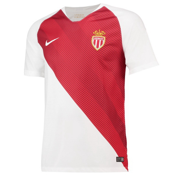 Maillot Om Pas Cher Nike Domicile Maillots AS Monaco 2018 2019 Blanc