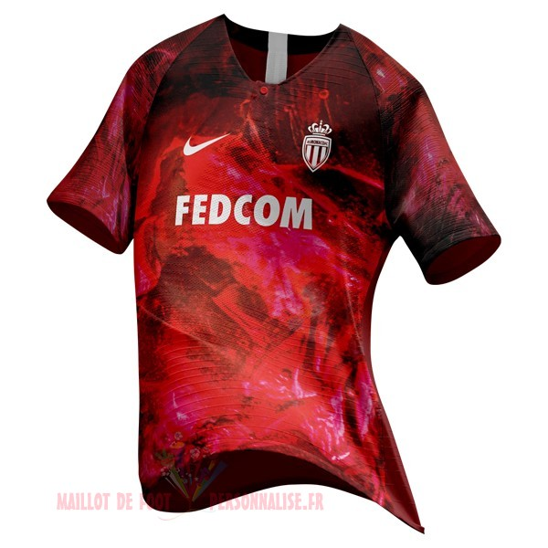 Maillot Om Pas Cher Nike Ea Sport Maillot As Monaco 2018 2019 Rouge