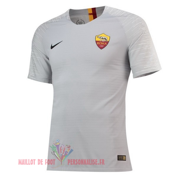 Maillot Om Pas Cher Nike Exterieur Maillots As Roma 2018-2019 Gris