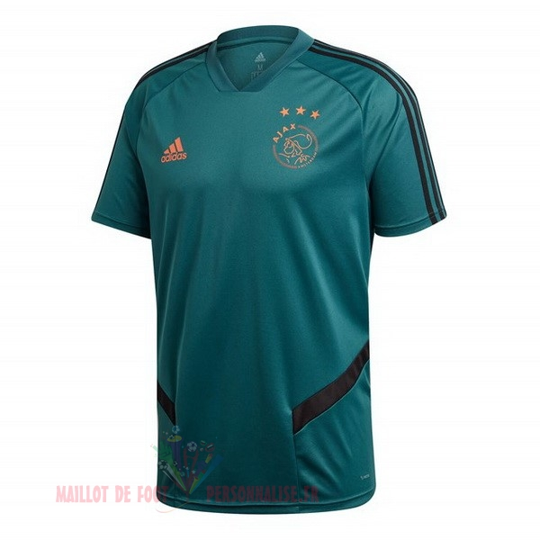 Maillot Om Pas Cher adidas Entrainement Ajax 2019 2020 Vert