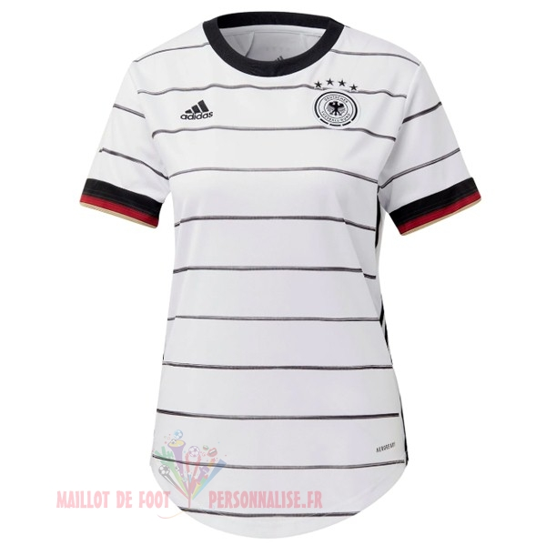 Maillot Om Pas Cher adidas Domicile Maillot Femme Allemagne 2020 Blanc