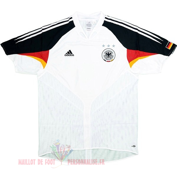 Maillot Om Pas Cher adidas Domicile Maillot Allemagne Retro 2004 Blanc