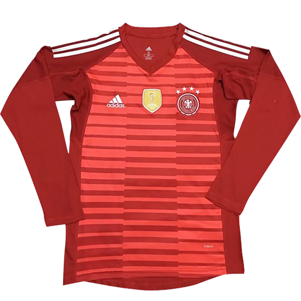 Maillot Om Pas Cher adidas Manches Longues Gardien Allemagne 2018 Rouge