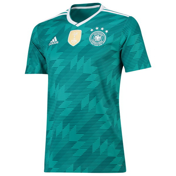Maillot Om Pas Cher adidas Thailande Exterieur Maillots Allemagne 2018 Vert