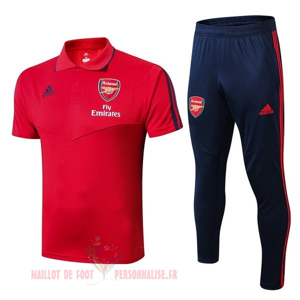 Maillot Om Pas Cher adidas Ensemble Polo Arsenal 2019 2020 Rouge Bleu
