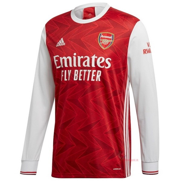 Maillot Om Pas Cher adidas Domicile Manches Longues Arsenal 2020 2021 Rouge