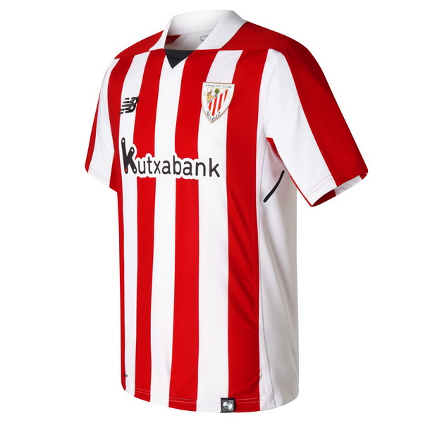 Maillot Om Pas Cher New Balance Domicile Maillots Athletic Bilbao 2017 2018 Rouge Blanc