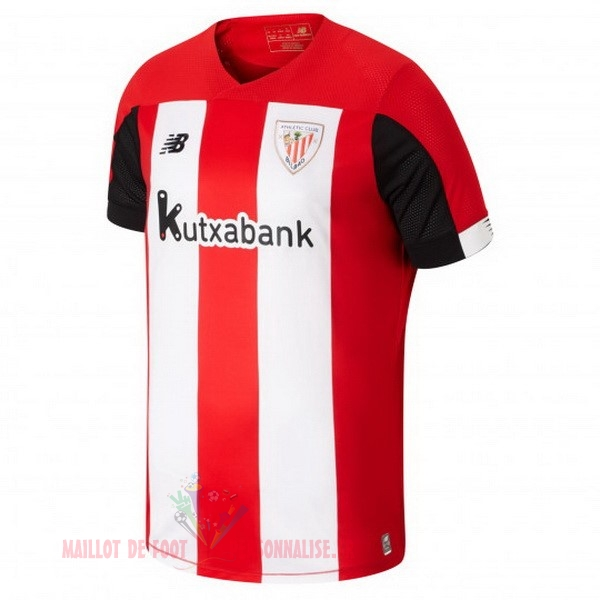 Maillot Om Pas Cher New Balance Domicile Maillot Athletic Bilbao 2019 2020 Rouge Blanc