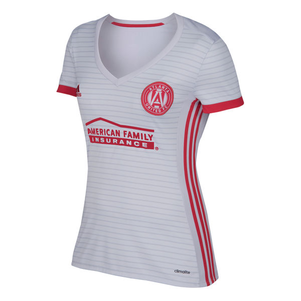 Maillot Om Pas Cher adidas Exterieur Maillots Femme Atlanta United 2017 2018 Blanc