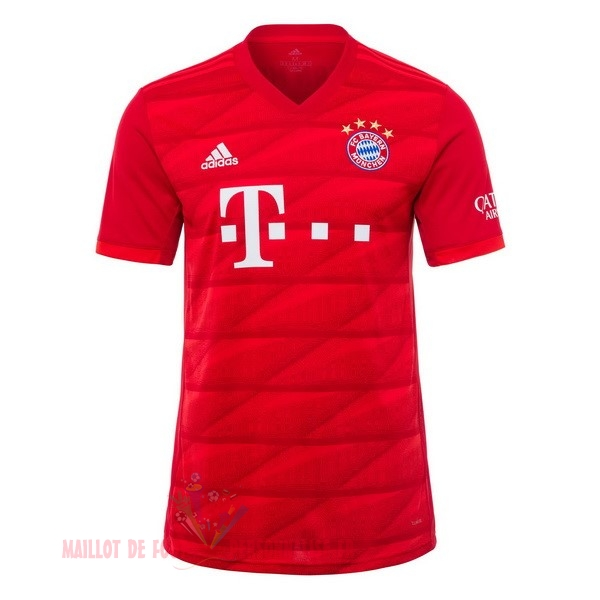 Maillot Om Pas Cher adidas Thailande Domicile Maillot Bayern Munich 2019 2020 Rouge