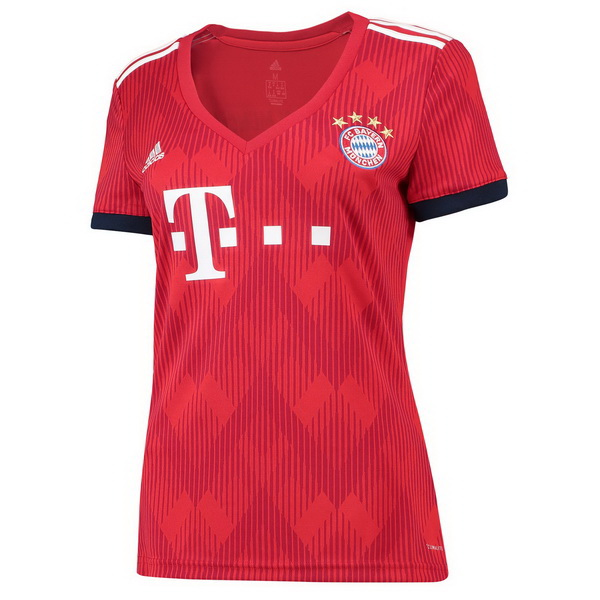 Maillot Om Pas Cher adidas Domicile Maillots Femme Bayern Munich 2018 2019 Rouge