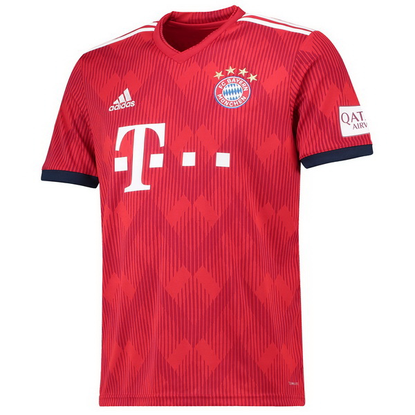 Maillot Om Pas Cher adidas Domicile Maillots Bayern Munich 2018 2019 Rouge
