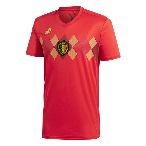 Maillot Om Pas Cher adidas Domicile Maillots Belgica 2018 Rouge