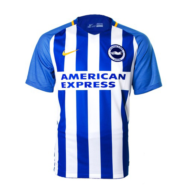 Maillot Om Pas Cher Nike Domicile Maillots Brighton 2017 2018 Bleu