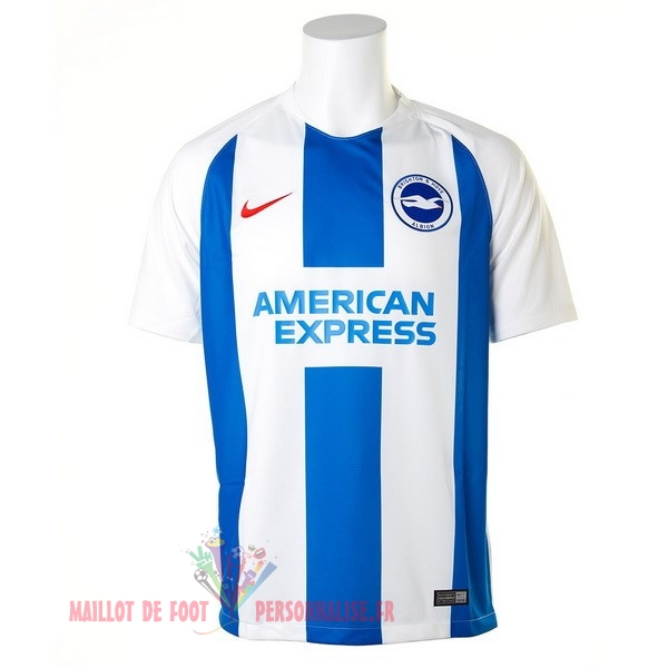 Maillot Om Pas Cher Nike Domicile Maillots Brighton 18-19 Bleu