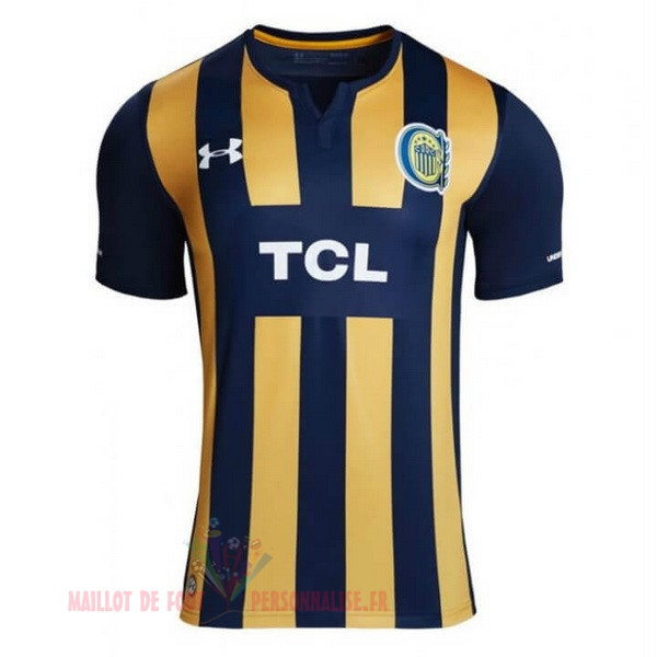 Maillot Om Pas Cher Under Armour Domicile Maillot CA Roserio Central 2019 2020 Bleu Jaune