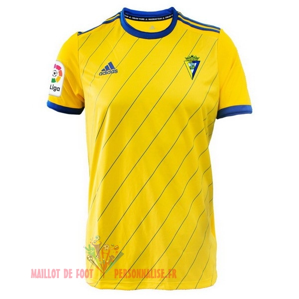 Maillot Om Pas Cher adidas Domicile Maillots Cadix 2018-2019 Jaune