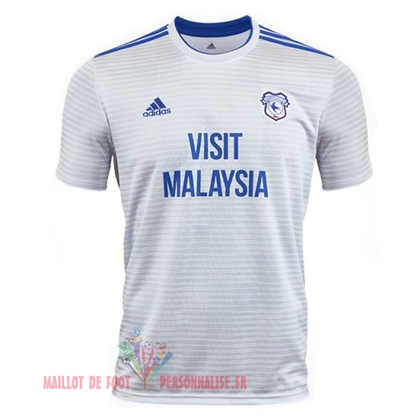 Maillot Om Pas Cher adidas Exterieur Maillots Cardiff City 18-19 Blanc