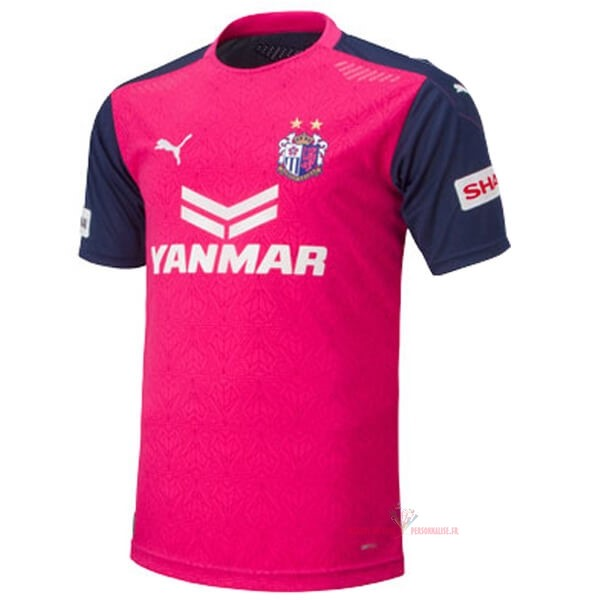Maillot Om Pas Cher PUMA Domicile Maillot Cerezo Osaka 2020 2021 Rose