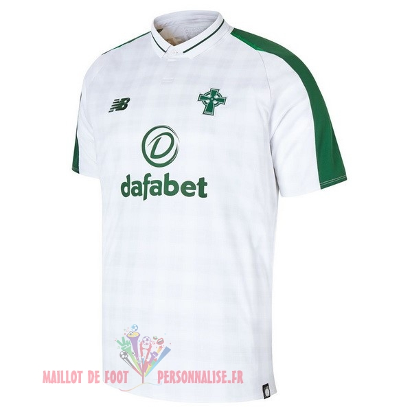 Maillot Om Pas Cher New Balance Exterieur Maillots Celtic 2018-2019 Blanc