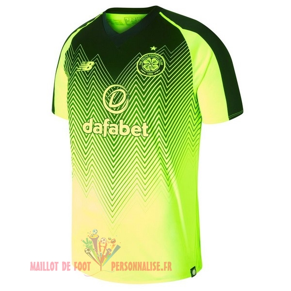 Maillot Om Pas Cher New Balance Third Maillots Celtic 2018-2019 Vert
