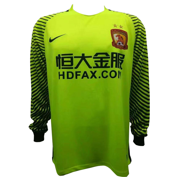 Maillot Om Pas Cher Nike Maillots Manches Longues Gardien Evergrande 2017 2018 Vert