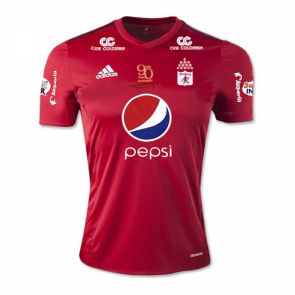 Maillot Om Pas Cher adidas Domicile Maillots América Cali 2017 2018 Rouge