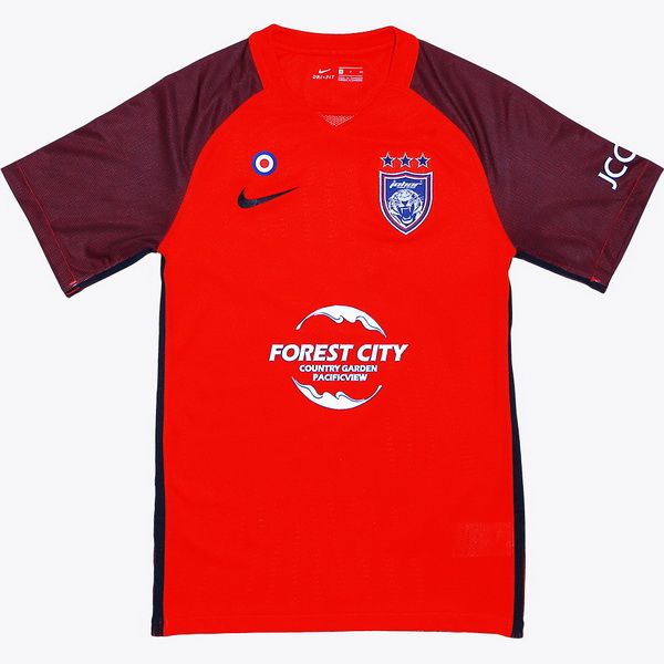 Maillot Om Pas Cher Nike Exterieur Maillots Johor Darul Takzim 2018 2019 Rouge