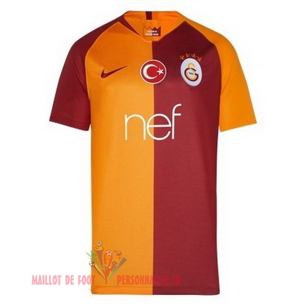 Maillot Om Pas Cher Nike Domicile Maillots Galatasaray SK 2018-2019 Orange