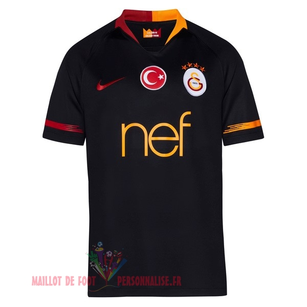 Maillot Om Pas Cher Nike Exterieur Maillots Galatasaray SK 2018-2019 Noir