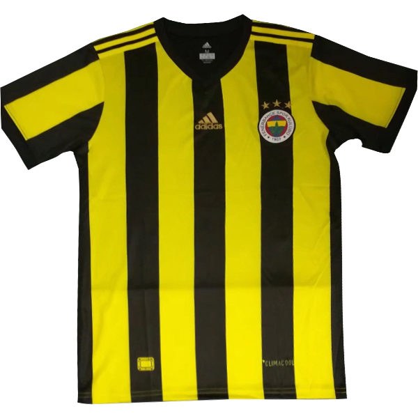 Maillot Om Pas Cher adidas Domicile Maillots Fenerbahce SK 2017 2018 Jaune