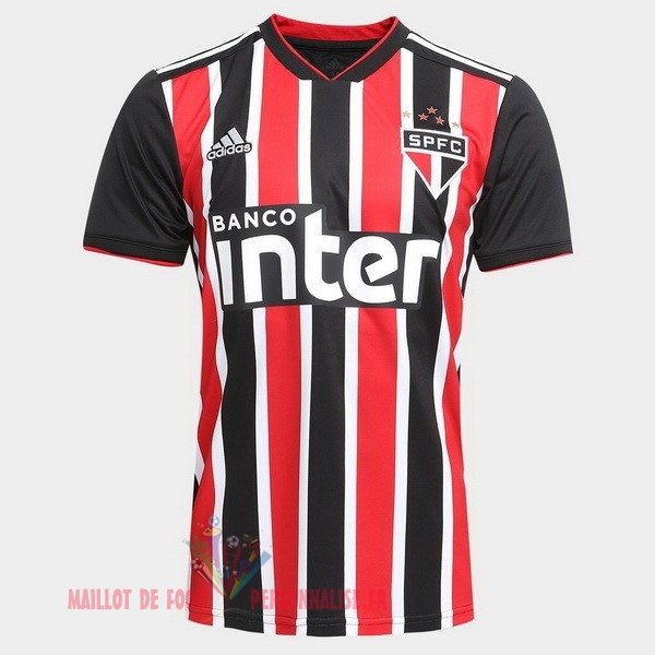 06f048d611 Maillot Om Pas Cher adidas Exterieur Maillots São Paulo 2018-2019 Rouge