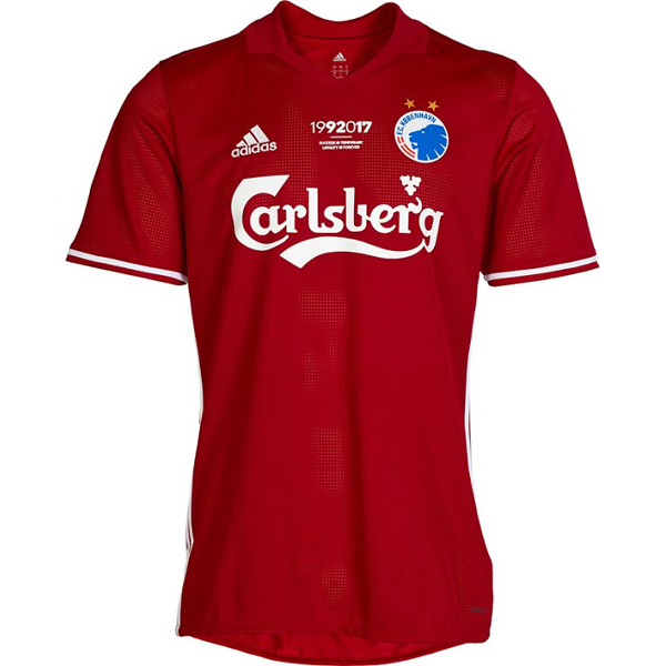 Maillot Om Pas Cher adidas Third Maillots Copenhague 2017 2018 Rouge