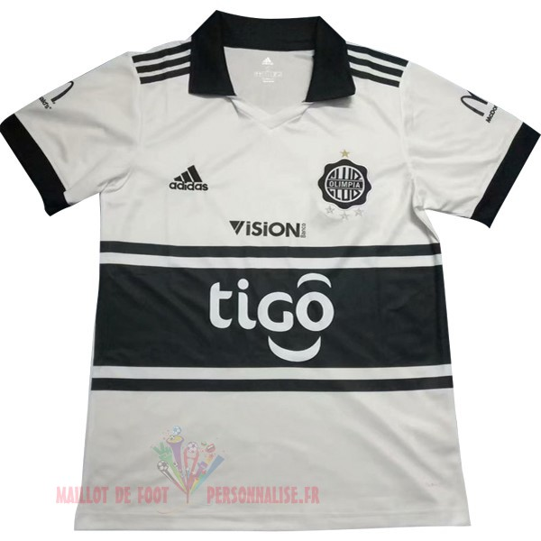 Maillot Om Pas Cher Adidas DomiChili Maillot Club Olimpia 2018 2019 Blanc