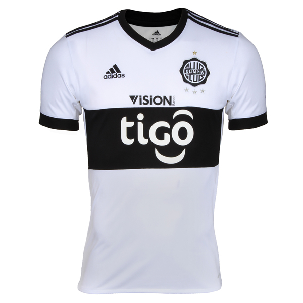 Maillot Om Pas Cher adidas Domicile Maillots Club Olimpia 2017 2018 Blanc