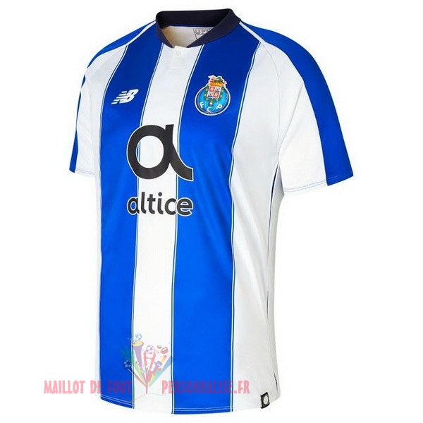 Maillot Om Pas Cher New Balance Domicile Maillots FC Oporto 2018-2019 Blanc Bleu