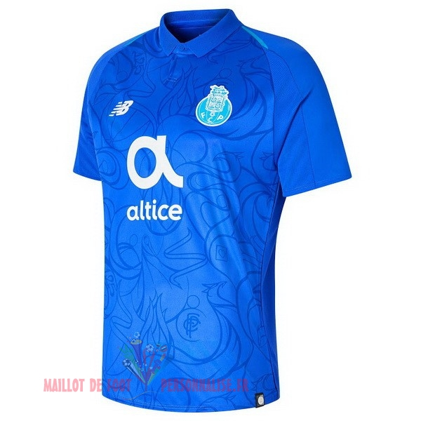 Maillot Om Pas Cher New Balance Third Maillots FC Oporto 2018-2019 Bleu