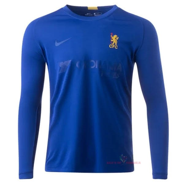 Maillot Om Pas Cher Nike Manches Longues Maillot Chelsea 50th Bleu