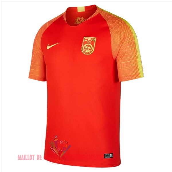 Maillot Om Pas Cher Nike Domicile Maillots Chine 2018 Rouge