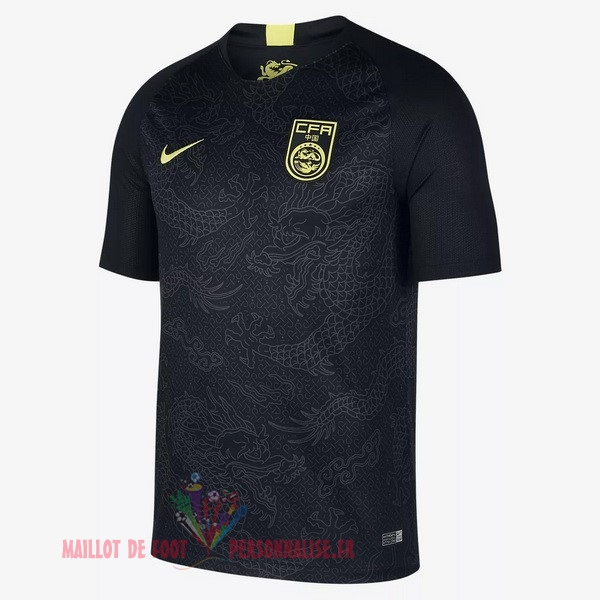 Maillot Om Pas Cher Nike Exterieur Maillots Chine 2018 Noir