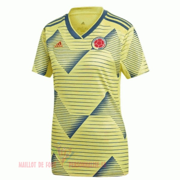 Maillot Om Pas Cher adidas Domicile Maillot Femme Columbia 2019 Jaune