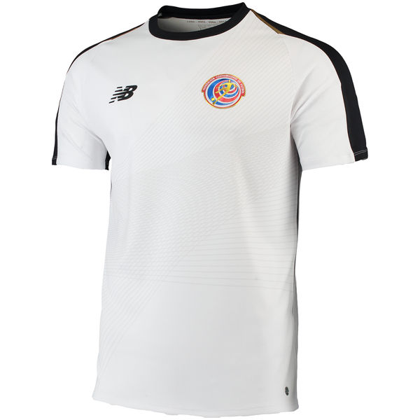 Maillot Om Pas Cher New Balance Exterieur Maillots Costa Rica 2018 Blanc