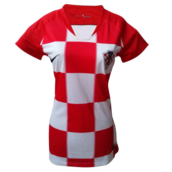Maillot Om Pas Cher Nike Domicile Maillots Femme Croatie 2018 Rouge