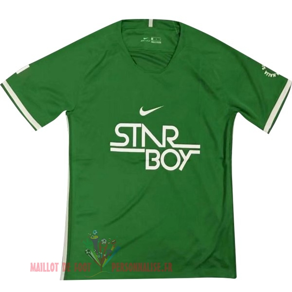 Maillot Om Pas Cher Nike Entrainement Nigeria 2018 Vert Clair