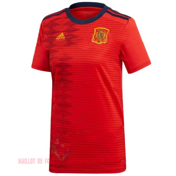 Maillot Om Pas Cher Adidas DomiChili Maillot Femme Espagne 2019 Rouge