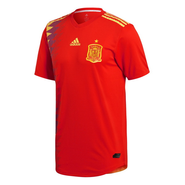 Maillot Om Pas Cher adidas Domicile Maillots Espagne 2018 Rouge